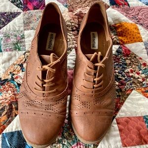 Cute Brown Shoes